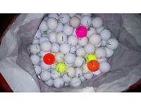 250+ mixed golf balls, excellent condition