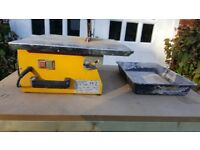 Electric Tile Cutter had some use but works well