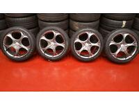 Wolfrace EuroSport Matrix alloy wheels 17 + 4 x tyres 215 45 17 Vauxhall,BMW and more