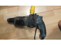 Used Makita hammer drill