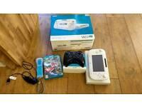 Wii U + Games + Accessories
