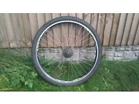 """29"""" Mountain bike rear wheel"""