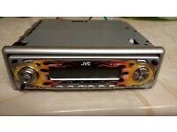 JVC KDSC601 in car CD player Radio