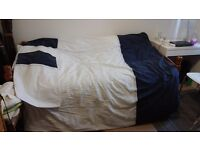 Double Duvet + cover + pillow cases