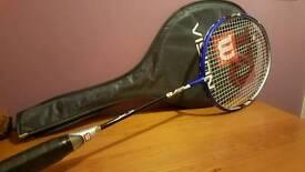 Wilson squash racquet.