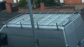 Roof rack for Ford transit medium van