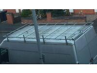 Roof rack for Ford transit medium van