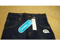BNWT Boys Bluezoo Blue Skinny Jeans Age 10