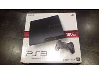 PS3 Slim Console and 18 games