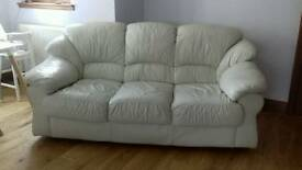 3str leather sofa