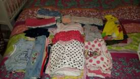 Large 0-3 3-6 baby girl bundle