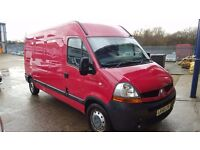 RENAULT MASTER LM35 DCI 120 S-A LWB HIGH TOP RED