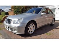 Mercedes C180 K ,1 owner,Full service history,Clean car