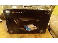 Brand new All-in-one printer. HP Deskjet F2420. Still unopened in box.