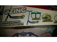 Zinc inline scooter