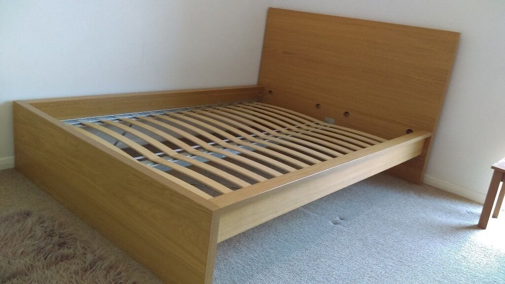 Ikea Double Bed With Mattress And Two Storage Bo Excellent Condition 1 Year Old Only