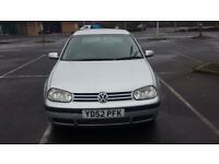 Volkswagen Golf 1.4 5dr, CD Player, FSH, New Battery/Timing Belt/Recently Serviced