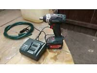 Metabo impAct wrench