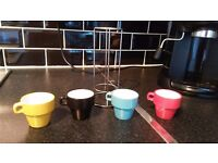 Néon - Stack of cups ristretto by Pylones