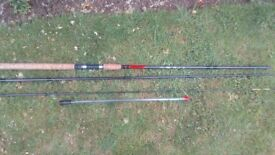 Ftd feeder fishing rod