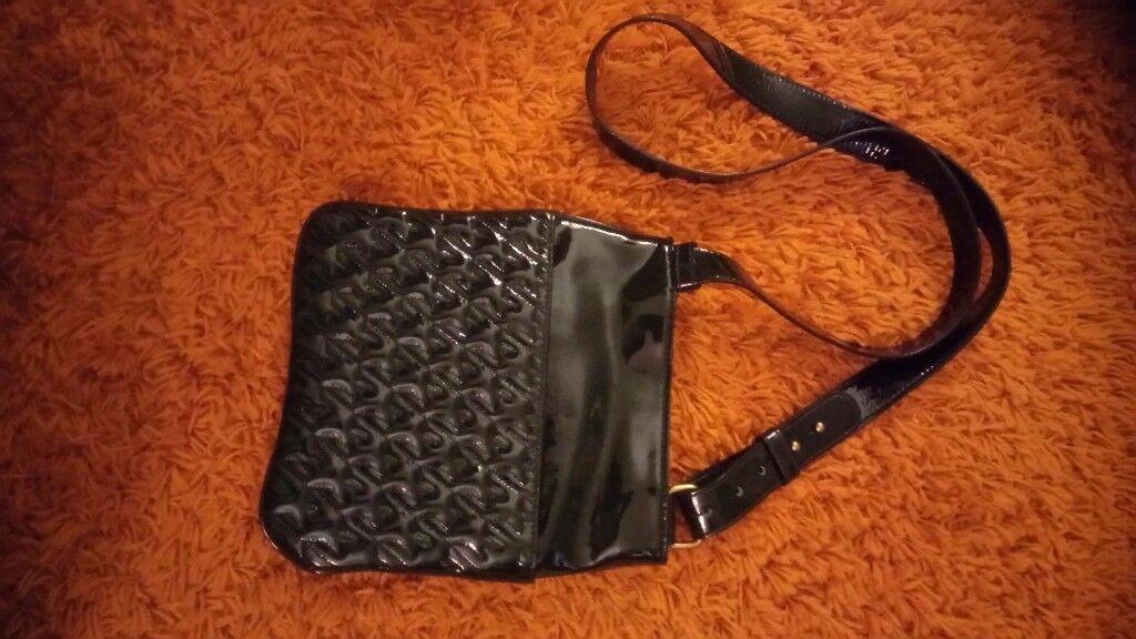 Ladies leather Jaeger handbag.