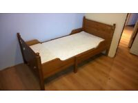 Ikea Laksvik Extendable bed. From toddler to full single bed.
