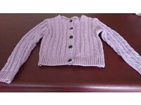 Girls chunky cardigan from Next. Age 7-8