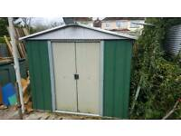 9ft x 9ft metal shed