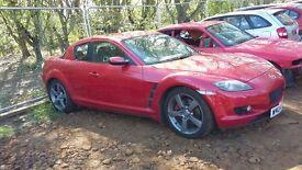 Mazda Rx 8 2004 231ps x2 - - Breaking