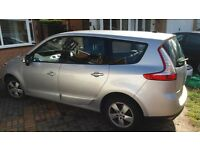 for sale: Renault grand scenic,dynamique, tom tom 1.5 dci. Very good condition.