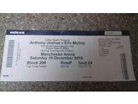 Joshua Molina ticket