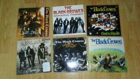 7 x the black crowes vinyl singles & sealed LP