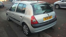 51 plate Renault Clio, great condition and runner, first to see will buy