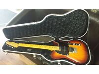 Fender Modern Plus Telecaster Electric Guitar -With Brand New Hard Case