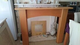Modern fire surround for sale £50