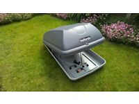 Halfords Roof Box with all Fittings and Key