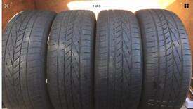 4x 255 45 20 Goodyear tyres FREE FITTING WE COME TO YOU