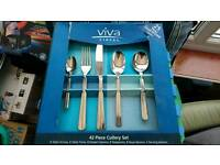 Viners 42piece cutlery set