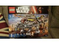 Starwars lego at-te new