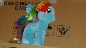 Little pony blue new never use