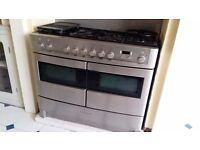 Rangemaster Elite dual fuel range oven