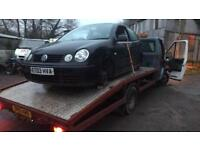 Wanted Scrap cars vans and 4x4 best price paid