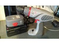 18 volt! Battery cordless drill..fully charged.with charger..