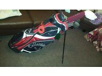 full golf set and callaway bag