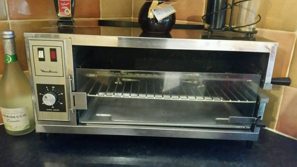 Moulinex Stainless Steel Catering Grill Rotisserie In