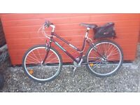Ladies alloy frame bike