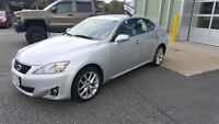 2012 Lexus IS 250 ONE OWNER