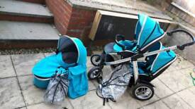 Oyster max double buggy