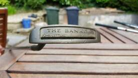 John Letters 'The Banker' putter