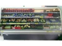 Dairy chiller display multideck fridge